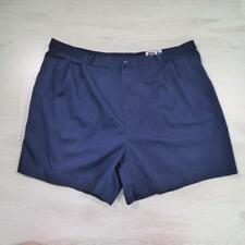 "FILA 36"" Vintage Blue Polyester Tennis Sports Holiday Shorts Large #B2601"