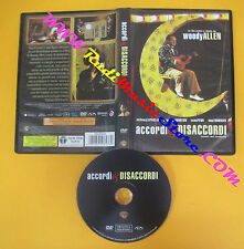 DVD film ACCORDI & DISACCORDI 2012 Woody Allen Sean Penn Uma Thurman no vhs (D7)
