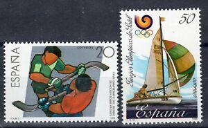 ESPAÑA 1988 EDIFIL 2957/2958** DEPORTES