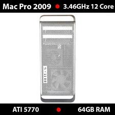 Apple Mac Pro | 3.46Ghz 12-Core | MB535LL/A-CTO | 64 GB RAM | ATI 5770 1GB