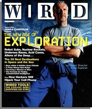 Brand New WIRED MAGAZINE December 2004 Exploration: The 28 Next Destinations in