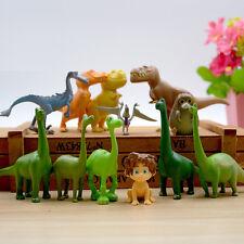 12pcs set Disney The Good Dinosaur Figure Toy Arlo Spot Budda Ramsey Cake Topper