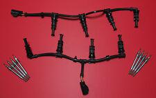 6.4L Ford Powerstroke Diesel Glühkerze Set - Premium Doppel Spule Stecker + Gurt
