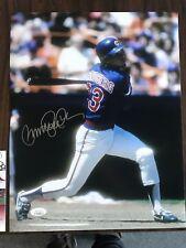 Chicago Cubs Ryan Sandberg Signed Autographed 11x14 Photo JSA COA
