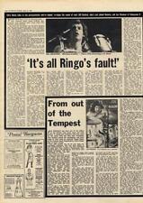 Bill Bruford Yes King Crimson Jon Hiseman Tempest Interview/article 1976
