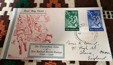 NEW ZEALAND  21st issue HEALTH STAMPS  first day cover 1929-1949 anniversary