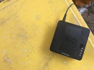 Cisco SPA122 V02 ATA VoIP Analog Telephone Adapter ABR401