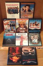 1980s BEST MOVIES x10 DVD Lot Tootsie Jaws Police Academy The Bride Car Wash