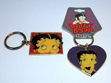 BETTY BOOP KEY CHAINS LOT #09 TWO PIECE SET