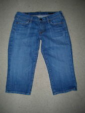 CITIZENS OF HUMANITY BARDOT LOW WAIST CROPPED CAPRIS STRETCH JEANS SIZE 27