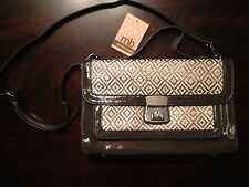 Melie Bianco Riki Satchel Handbag Brown NWT $99