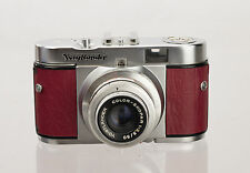 Voigtlander Vito B Replacement Cover - Laser Cut Recycled Leather