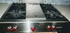 Wolf 36 inch Pro-Style Gas Rangetop Model USED,$800, +many more appliances