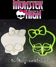 Monster High Skull UK plastique Cookie Cutter Fondant Gâteau Décoration Cupcake