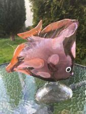 Fish Mid-Century Modern Art Glass