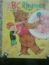 ABC RHYMES Little Golden Book 1982 16th Printing  (VGC)