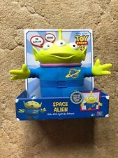 Disney Pixar Toy Story 4 Space Alien Talks With Light-Up Antenna New