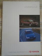 Toyota Carina E brochure Sep 1997