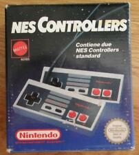 NES 2 CONTROLLERS NINTENDO NES MATTEL OFFICIAL CONTROLLER NEW NUOVO