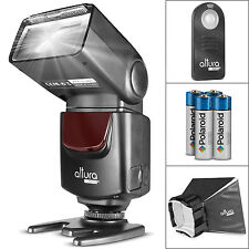 Altura Photo® Speedlight Flash + Diffuser for Nikon D7100 D5200 D3300 D3200