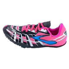 Brooks Womens Running Cleats Pink 1201861 Lace Up Track Shoes 7.5 New