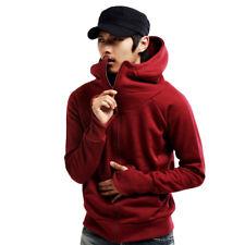 Mens Pullover Hoodie unisex fleece Hoody sweatshirt teenager Thumb Hole Jumper