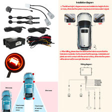 Car Blind Spot Detection Universal Ultrasonic Sensor Radar Monitoring System
