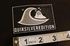QUIKSILVER Silver Edition Quicksilver Vintage Surfing Decal STICKER
