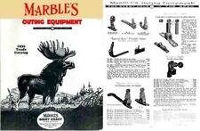 Marbles 1935 Outing Equipment Trade Catalog