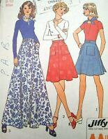 Simplicity Sewing Pattern 8886 pierde la función de Falda bolsillo con bolsillos