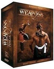 3 Pencak Silat Weapons DVDs Geschenk-Set'