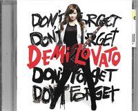 CD ALBUM 11 TITRES--DEMI LOVATO--DON'T FORGET--2008