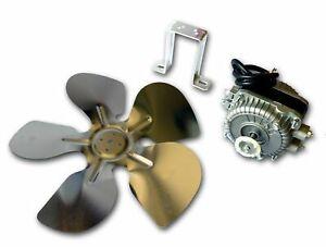 Kit Moteur Ventilateur 7W Frigo Congelateur Refrigerateur Helice 230mm Support