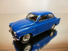 ABREX SKODA OCTAVIA TS 1200 - BLUE 1:43 - EXCELLENT CONDITION - 11