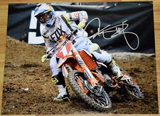 "RYAN DUNGEY #1 Signed 11x14"" Fox KTM Photo #7 - 4x SX Champion MX"