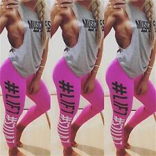 Womens' LIFT SQUAT YOGA Gym Sports Fitness Stretch Running Training Tights Pants