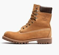 """$495 TIMBERLAND Wicket Crate USA MADE 8"""" BOOT (WHEAT) SIZE 8.5M"""