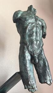 Trevor Southey (1040-2015)Bronze Torso Sculpture Gay Activist 13/21
