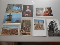 Lot of 48 Vintage Postcards Linen American Foreign Marked & Unmarked
