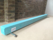 finest quality gymnastics gym balance beam 10FT long TURQUOISE BRAND NEW