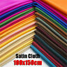 Plain Solid Cotton Fabric Quilting Sewing Crafts Patchwork Cloth BY The Yard US