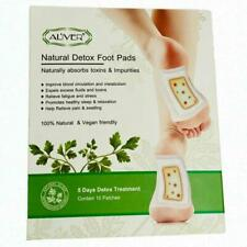 10 Patches Natural Detox Foot Pads Pack Remove Toxins Weight Loss Stress Relief