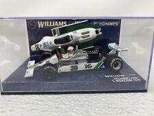 1:43 Minichamps 1979 Williams FW07 W/Engine Clay Regazzoni 430790028