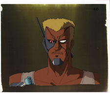 Bubblegum Crash Crisis Anime Cel Douga BG Animation Art Colonel Lando Sonoda '91