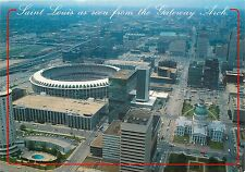 OLD COURTHOUSE KIENER PLAZA BUSCH STADIUM CARDINALS ST LOUIS Mo. POSTCARD