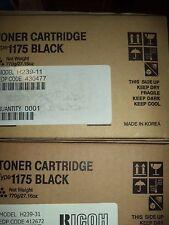 Ricoh 412672 Black Toner Cartridge Type 1175 Genuine New Sealed