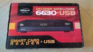 Digiquest 6630+USB Digital Satellite Receiver