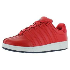 K-Swiss Mens Classic VN Heritage Leather Low-Top Solid Sneakers Shoes BHFO 6844