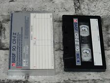 BASF 90 CR-E II Vintage Blank Unsealed Cassette Tape