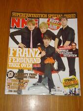 NME 2005 JAN 8 FRANZ FERDINAND STROKES BABYSHAMBLES